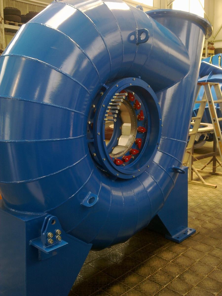Kaplan - spiral-type-kaplan-turbine – Hydrohrom s.r.o.
