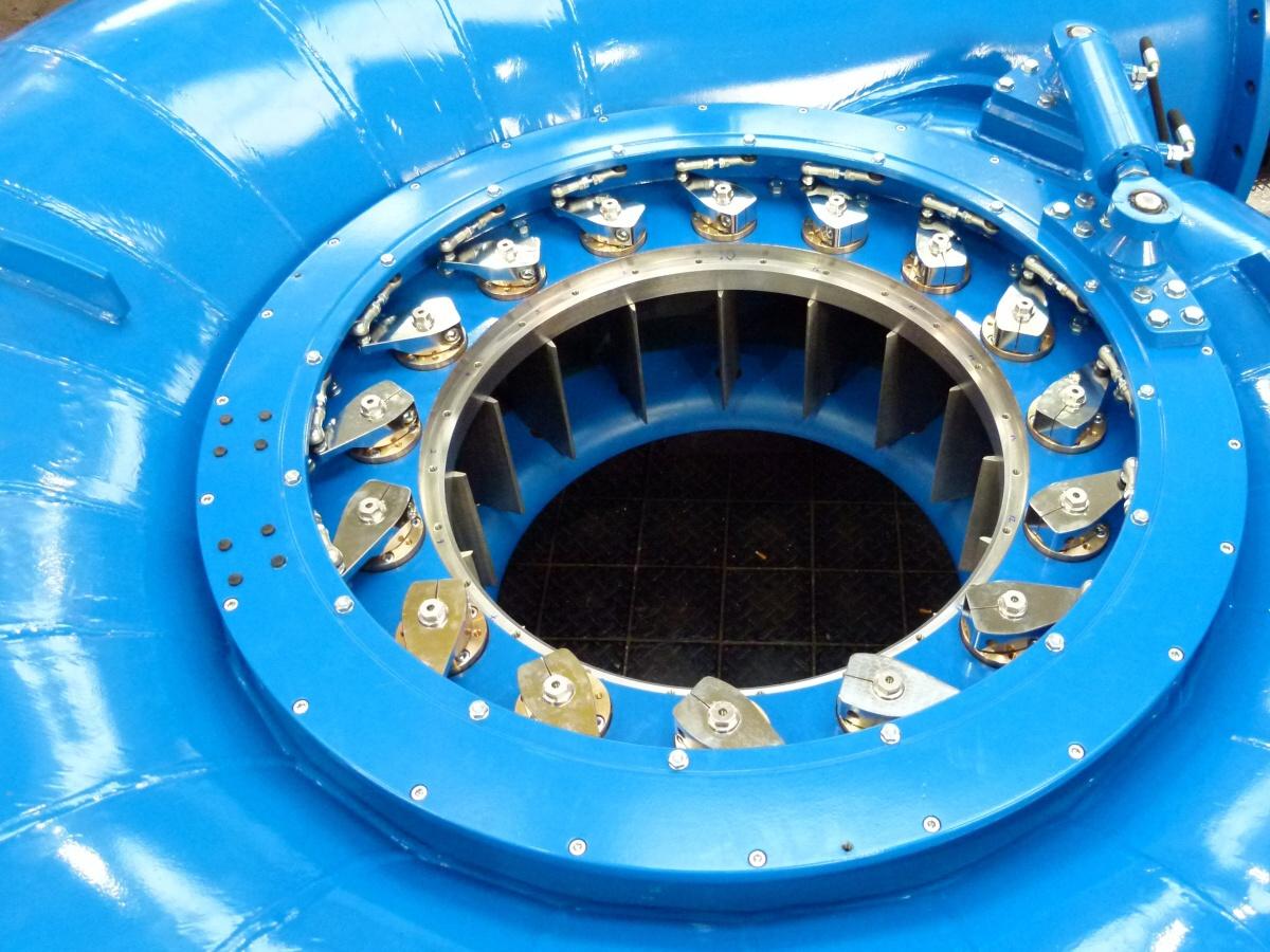 Kaplan Spiral Typ Kaplan Turbine Hydrohrom S R O